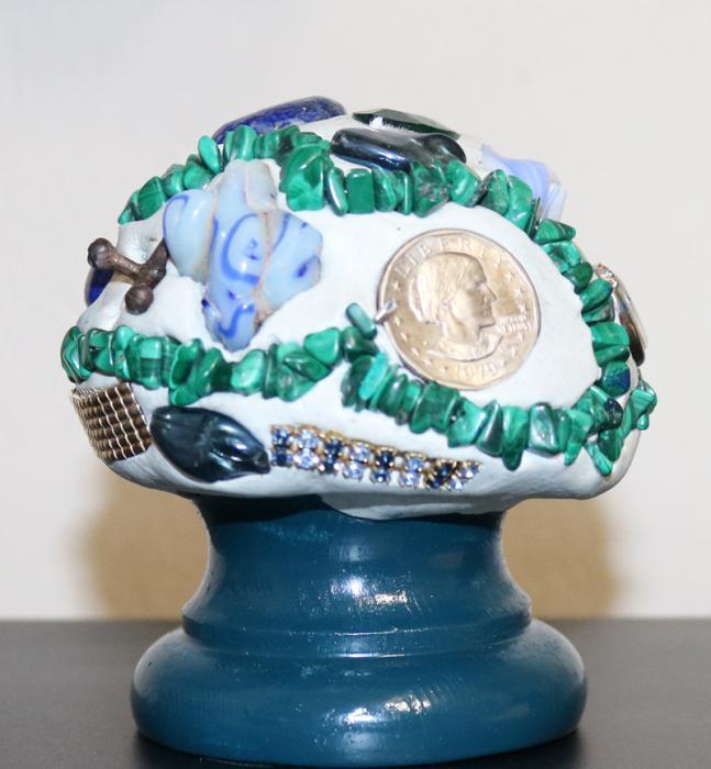 Blue base Mushroom