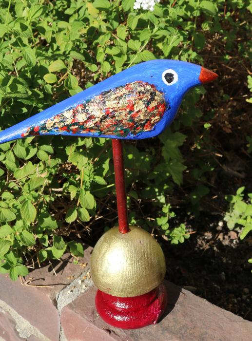 Blue bird to Kansas