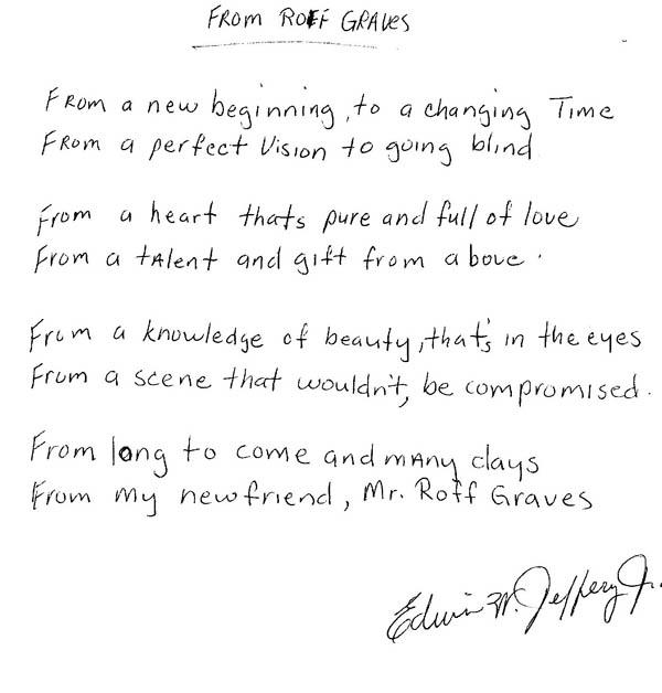 """Poem by Edwin Jeffery Jr """"From Roff"""""""